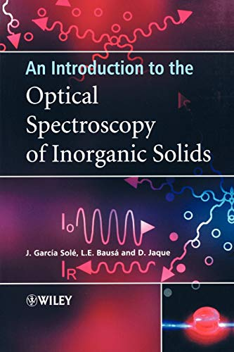 9780470868867: An Introduction to the Optical Spectroscopy of Inorganic Solids