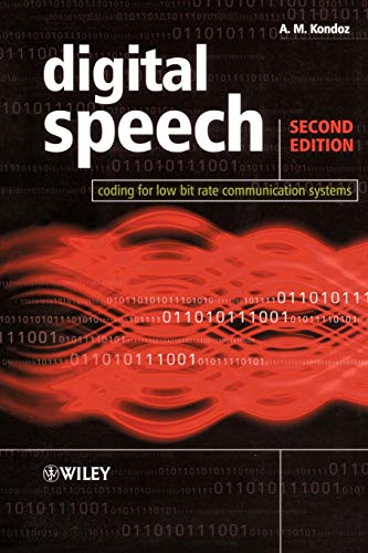 9780470870082: Digital Speech: Coding for Low Bit Rate Communication Systems