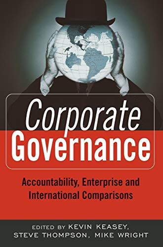 9780470870303: Corporate Governance: Accountability, Enterprise and International Comparisons