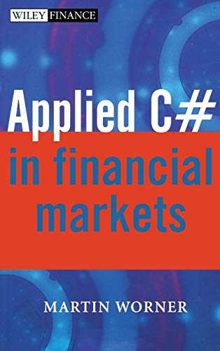 9780470870617: Applied C# in Financial Markets