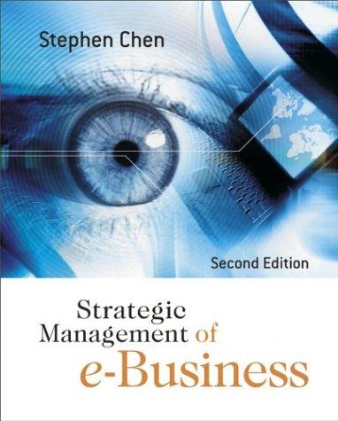 9780470870730: Strategic Management of e-Business
