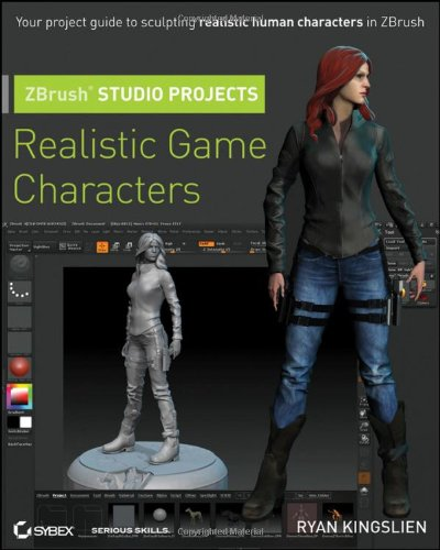 ZBrush Studio Projects: Realistic Game Characters: Kingslien, Ryan