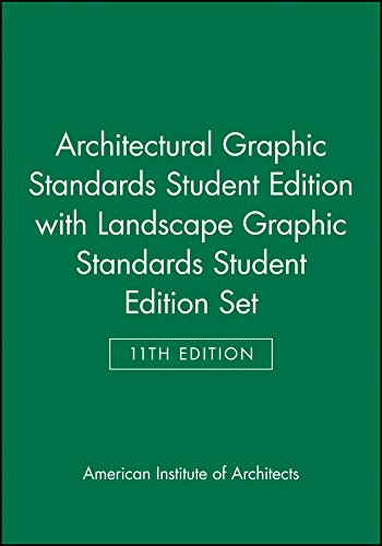 9780470873434: Architectural Graphic Standards 11 Edition Student Edition with Landscape Graphic Standards Student Edition Set