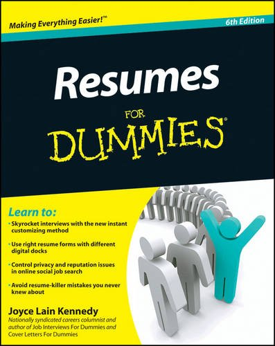 9780470873618: Resumes for Dummies