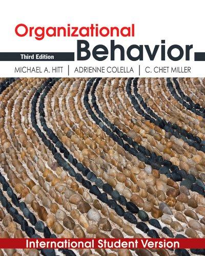 9780470873717: Organizational Behavior