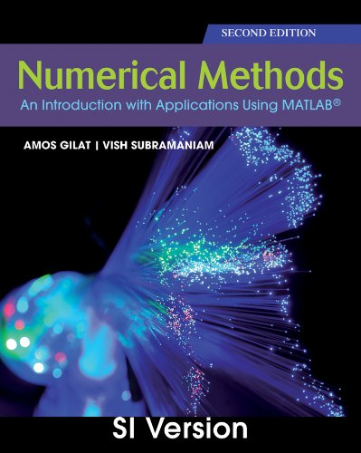 9780470873748: Numerical Methods with MATLAB