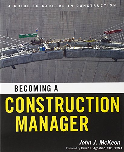 9780470874219: Becoming a Construction Manager