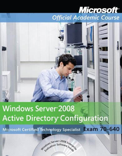 9780470874981: Exam 70-640 Windows Server 2008 Active Directory Configuration with Lab Manual Set