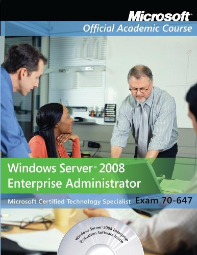 9780470875933: Exam 70-647: Windows Server 2008 Enterprise Administrator with Lab Manual Set