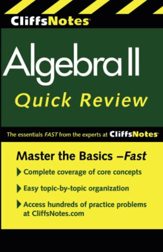 9780470876343: CliffsNotes Algebra II Quick Review, 2nd Edition (Cliffs Quick Review)