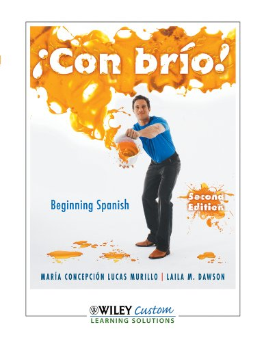 Con Brio! (Beginning Spanish, Second Edition): Maria Concepcion Lucas