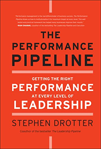 9780470877289: The Performance Pipeline: Getting the Right Performance at Every Level of Leadership
