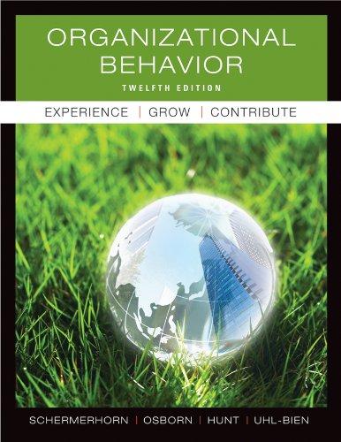 9780470878200: Organizational Behavior