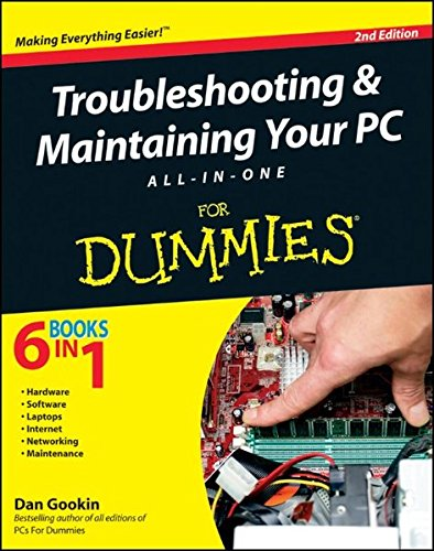 Troubleshooting and Maintaining Your PC All-in-One For Dummies (9780470878675) by Dan Gookin