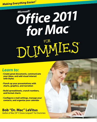9780470878699: Office 2011 for Mac For Dummies