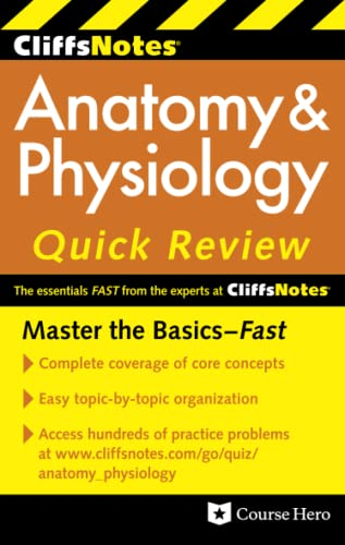 9780470878743: CliffsNotes Anatomy & Physiology Quick Review, 2ndEdition (Cliffsnotes Quick Review)