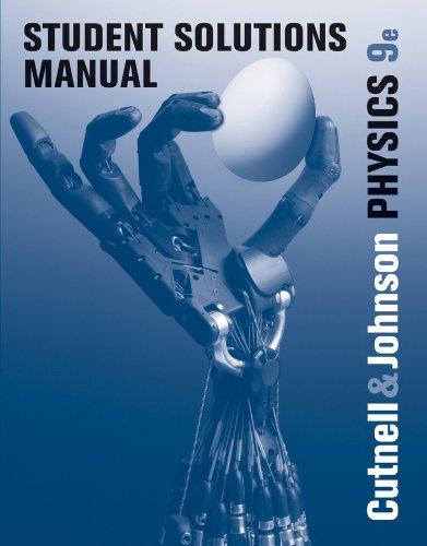 9780470879566: Student Solutions Manual to accompany Physics 9e