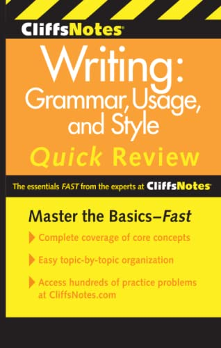 9780470880784: CliffsNotes Writing: Grammar, Usage, and Style Quick Review, 3rd Edition (Cliffs Quick Review (Paperback))