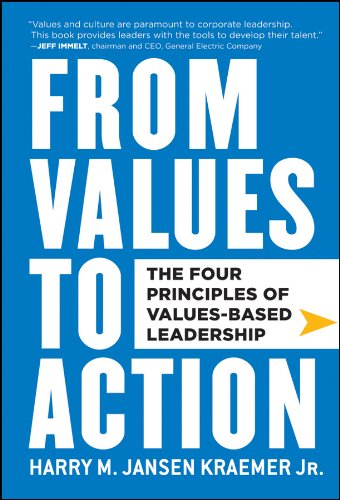 9780470881255: From Values to Action: The Four Principles of Values-Based Leadership