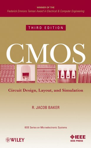 9780470881323: CMOS: Circuit Design, Layout, and Simulation