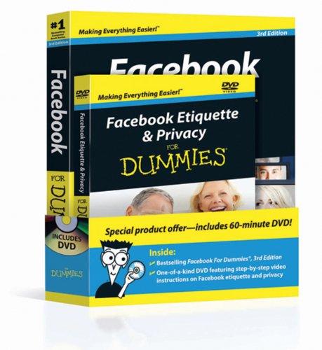 9780470882245: Facebook for Dummies  3 ED + Facebook Etiquette & Privacy for Dummies