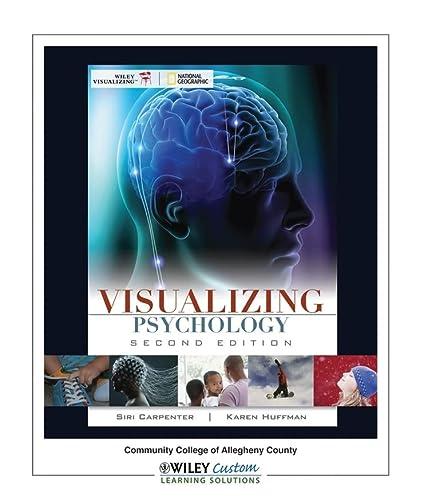 9780470882290: Visualizing Psychology