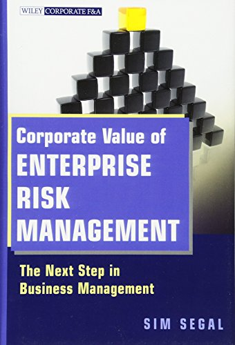 9780470882542: Corporate Value of Enterprise Risk Management: The Next Step in Business Management