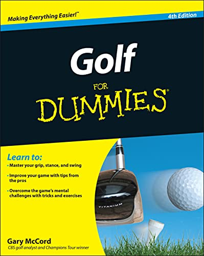 9780470882795: Golf For Dummies