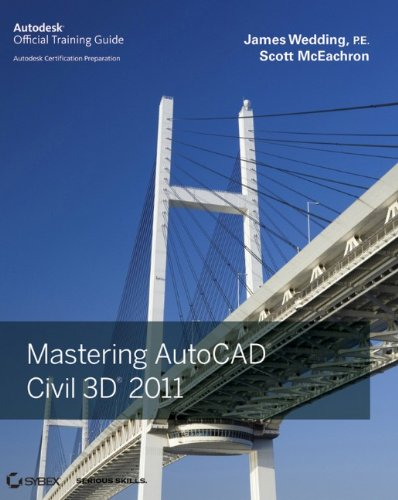 9780470884188: Mastering AutoCAD Civil 3D 2011: Autodesk Official Training Guide