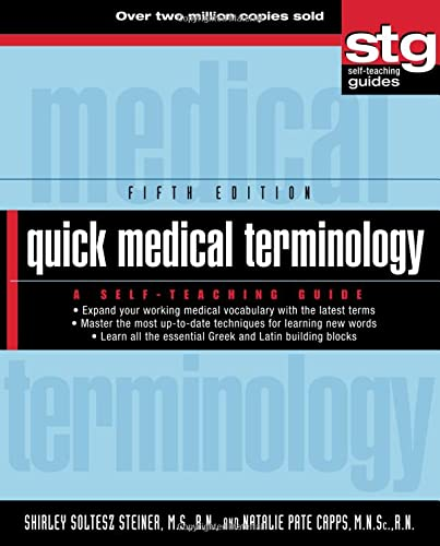 9780470886199: Quick Medical Terminology: A Self-Teaching Guide