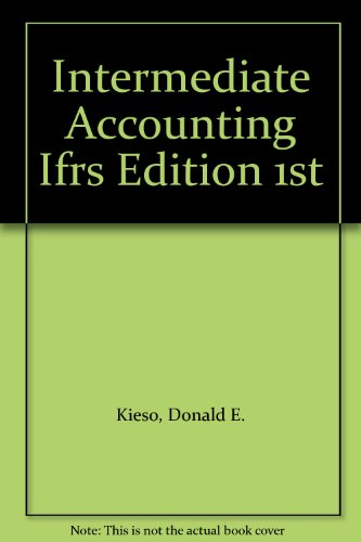 9780470886731: Intermediate Accounting Ifrs Edition 1st