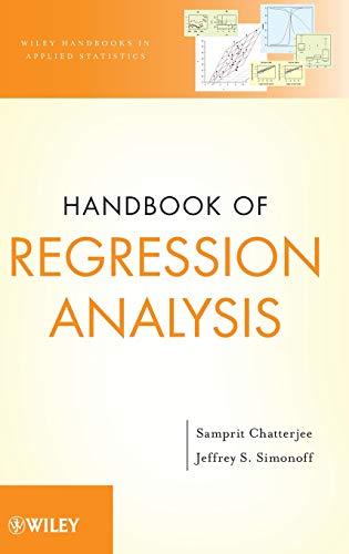 9780470887165: Handbook of Regression Analysis (Wiley Handbooks in Applied Statistics)
