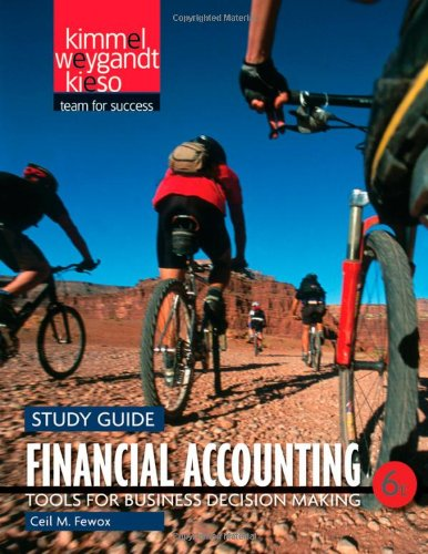 9780470887929: Financial Accounting: Tools for Business Decision Making Study Guide