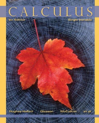 Calculus: Single Variable: Thrash, Joseph, Pasquale,