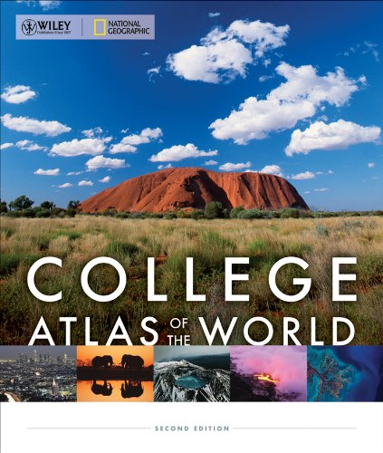 9780470888872: Wiley/National Geographic College Atlas of the World