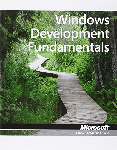 9780470889138: Windows Development Fundamentals: Exam 98-362