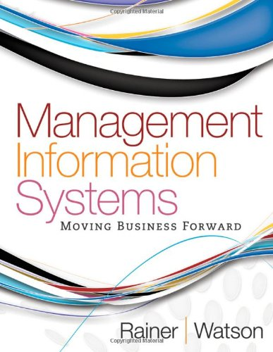 9780470889190: Management Information Systems, Moving Business Forward