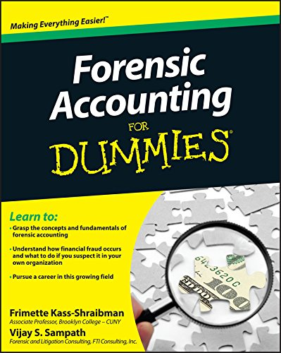 9780470889282: Forensic Accounting For Dummies