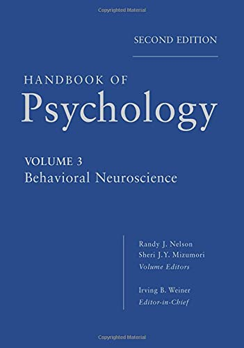9780470890592: Handbook of Psychology, Behavioral Neuroscience (Volume 3)