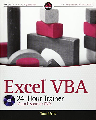 9780470890691: Excel VBA 24-Hour Trainer [With DVD ROM] (Wrox Programmer to Programmer)