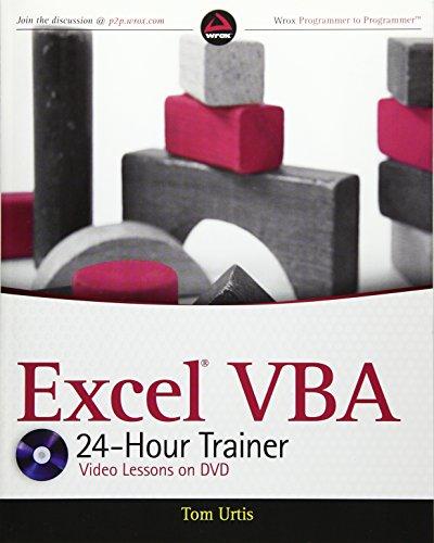 9780470890691: Excel VBA 24-Hour Trainer