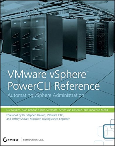 9780470890790: VMware vSphere PowerCLI Reference: Automating vSphere Administration