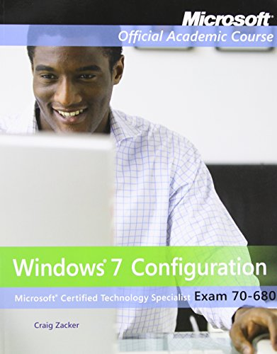 9780470891223: Exam 70-680: Windows 7 Configuration with Lab Manual Set