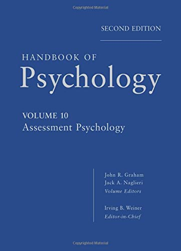 9780470891278: Handbook of Psychology, Assessment Psychology (Volume 10)