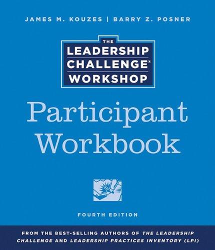 9780470891766: The Leadership Challenge Workshop, Participant Set