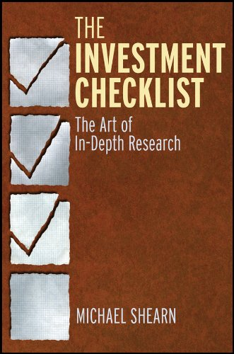 9780470891858: The Investment Checklist: The Art of In-Depth Research