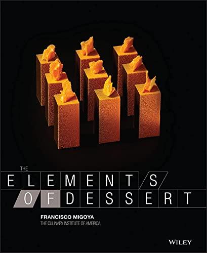 9780470891988: The Elements of Dessert