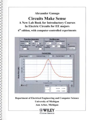 9780470896204: (WCS) Circuits Make Sense: A New Lab Book for Introductory Courses in Electric Circuits