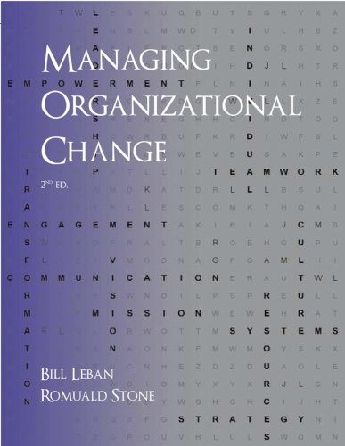 9780470897164: Managing Organizational Change, Second Edition