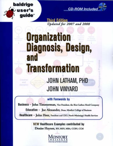 9780470898413: Baldrige User's Guide: Organization Diagnosis, Design, and Transformation (Baldrige User's Guides)